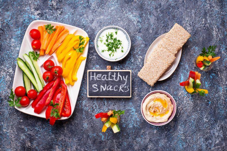Snacks saludables y fáciles de preparar
