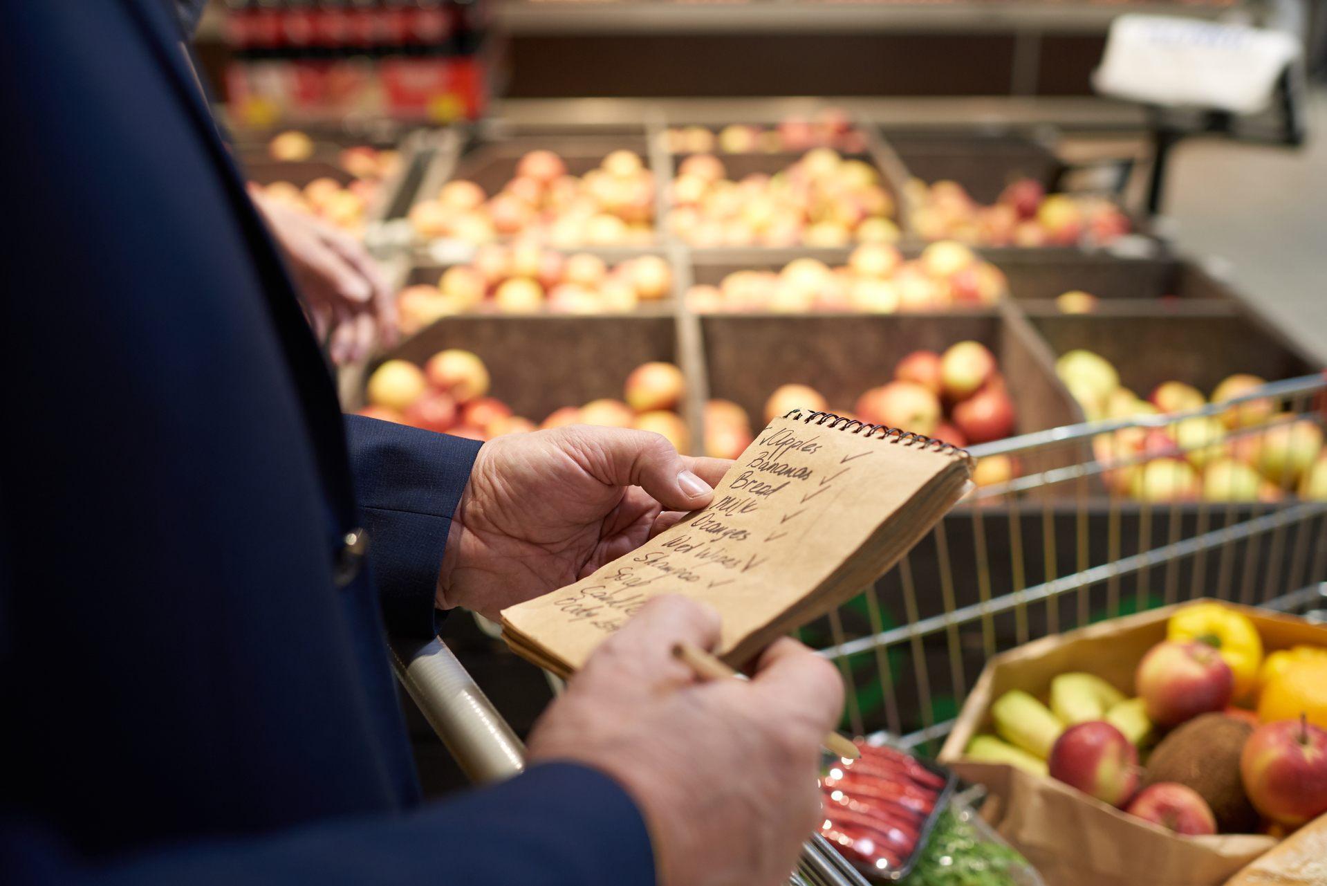 Cómo organizar tu compra semanal