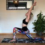 Luna creciente yoga