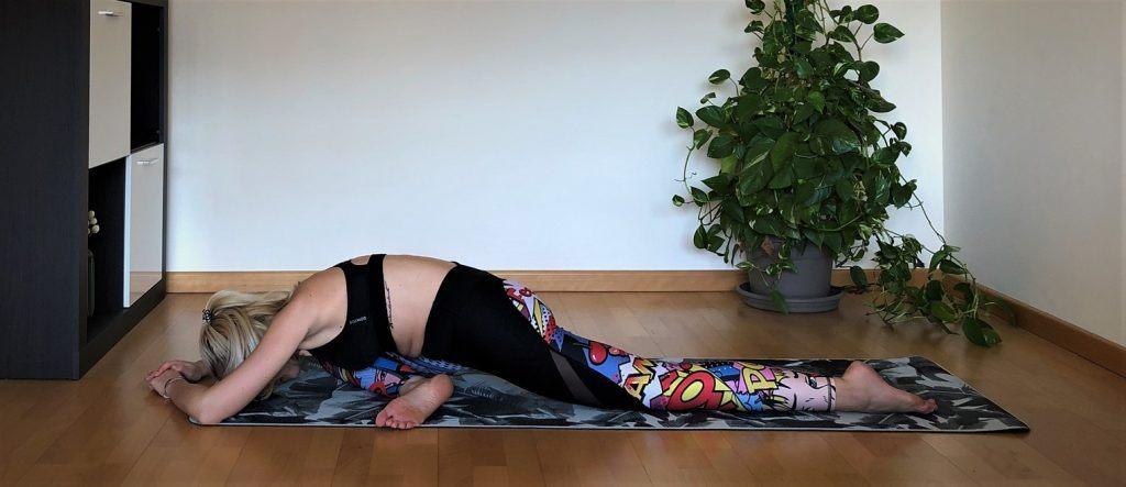 Kapotanasana: Postura de la paloma yoga