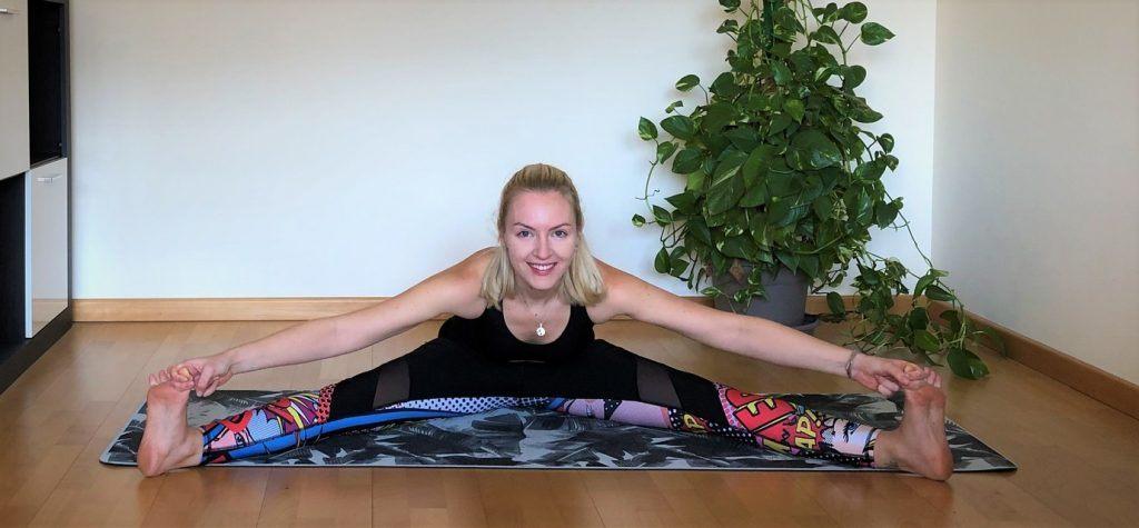 Upavistha Konasana: apertura de caderas yoga