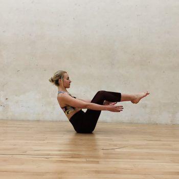 Ejercicios de yoga para fortalecer el core